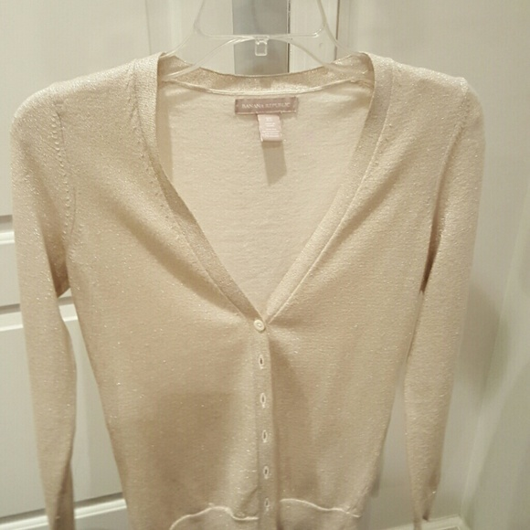 55% off Banana Republic Sweaters - Light Gold Banana Republic ...