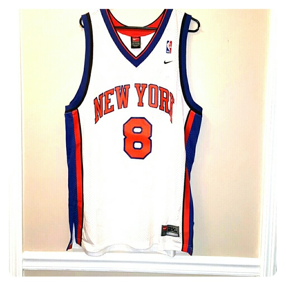 best service 6db64 cc662 New York Knicks Sprewell Jersey