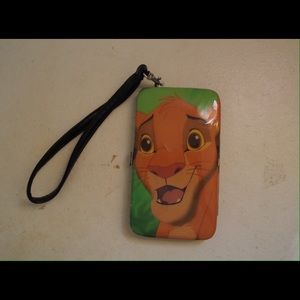 Hot topic disney the lion king simba iPhone case