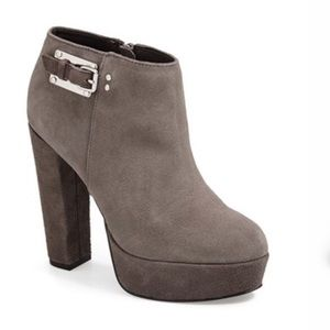 SALE TODAY! DV By Dolce Vita grey suede ankle boot