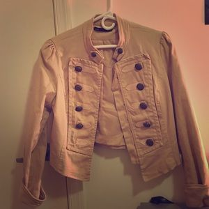 "Pale Pink ""Michael Jackson"" inspired Blazer"