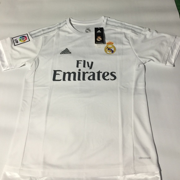 new style f2b57 a3f16 Adidas Real Madrid Authentic Ronaldo Jersey Home Boutique