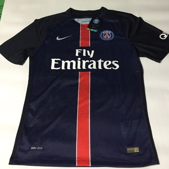 on sale e9410 1d948 Nike Authentic PSG Home Jersey 2016 Ibrahimović