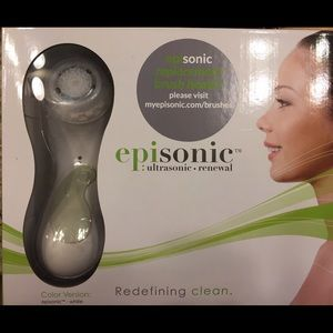 New Episonic ultrasonic brush kit white color