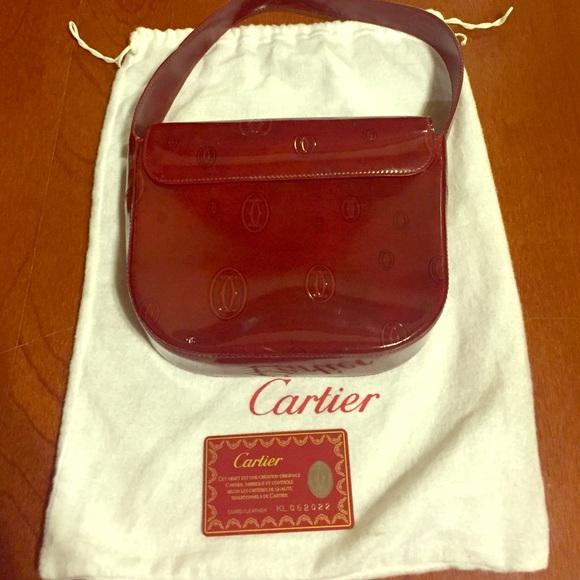 62 Off Cartier Handbags Rare Authentic Cartier Happy