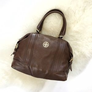 Tory Burch Chocolate Brown Satchel