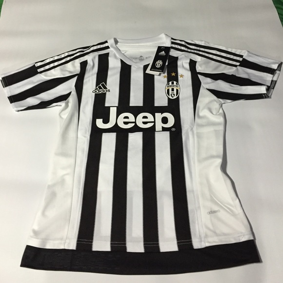 brand new 4c534 87127 Adidas Authentic Juventus Home Jersey Pogba Boutique