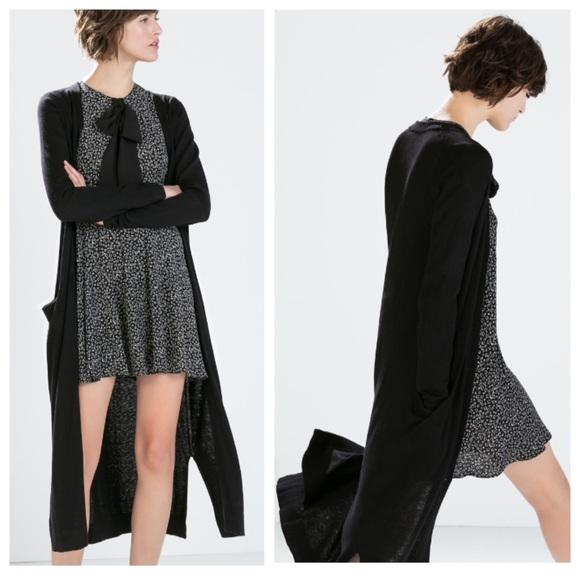 823ebc2e732 Zara Sweaters - ✂️PRICE CUT✂ Zara Long Cardigan