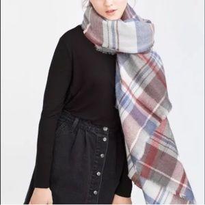 Sale Zara blanket scarf