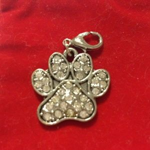 Jewelry - PAW with Crystals Charm