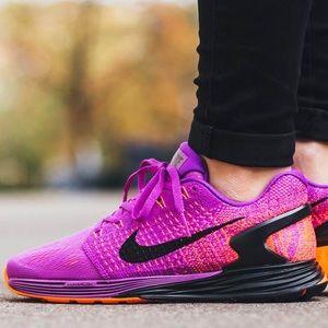 Nike Lunarglide Vestido Púrpura 7 De Las Mujeres xbB5h