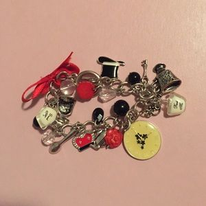 Jewelry - Adorable Alicia and wonderland charm bracelet