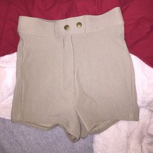 American Apparel Pants - NEW American Apparel Riding Shorts Sz M-Taupe