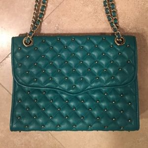 Rebecca Minkoff Quilted Studded Affair Bag