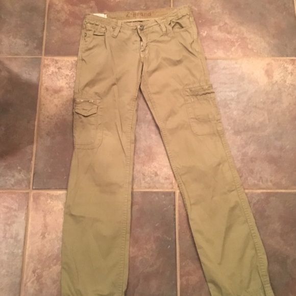 02ec89b239 Z-Brand army green Cargo pants.Excellent Condition.  M_5688be06d6b4a10a7e07bea7