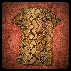 Altuzarra for Target Tops - Altuzarra for Target Snakeskin Tee Shirt size XS