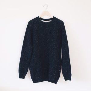 H&M speckled long sweater