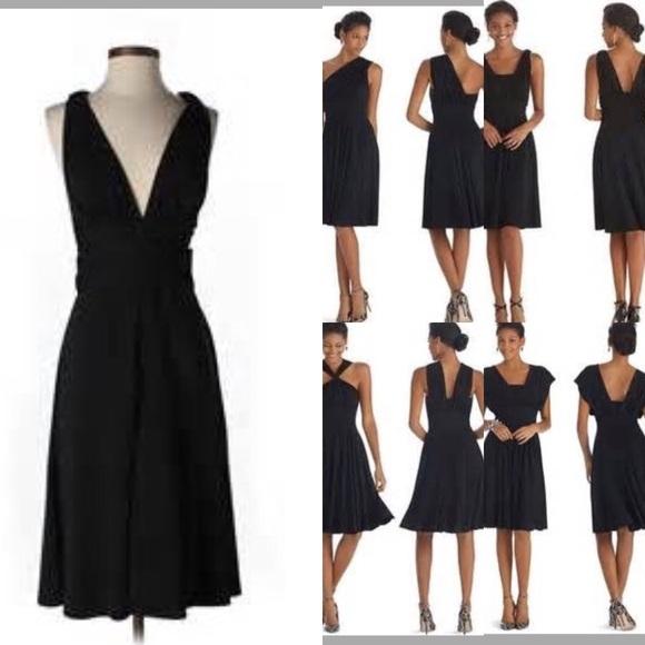 White House Black Market Dresses Whbm Convertible Little Black