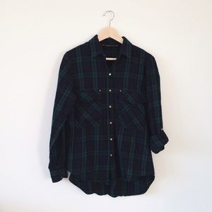 Zara checked top