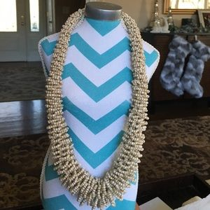 CATHERINE STEIN CHUNKY BEADED NECLACE NEW WITH TAG