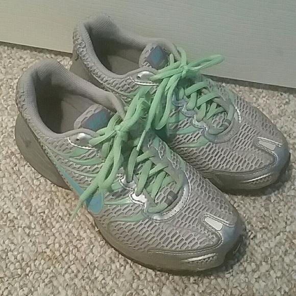Nike Women S Air Max Torch  Running Shoes Gray Green
