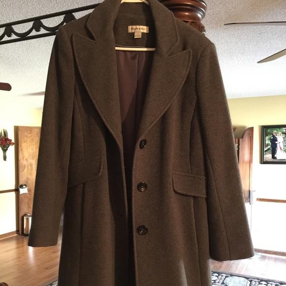 Preston Amp York Jackets Amp Coats Preston And York Wool