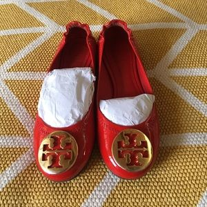 Tory Burch Other - ⚡FINAL ️SALE⚡️Girls Tory Burch red patent revas
