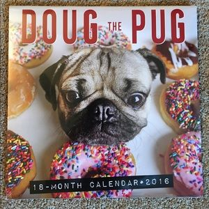 doug the pug calendar 2017 listing not available other from emily s closet on poshmark 5571