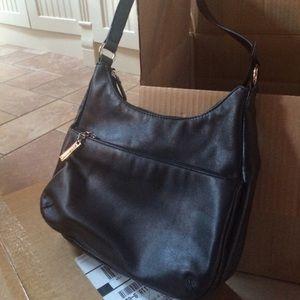 Giani Bernini Nappa Leather Tote Black