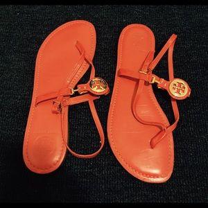 e88638920fd13 Tory Burch Shoes - Tory Burch Ali Thong Sandals Patent Calf