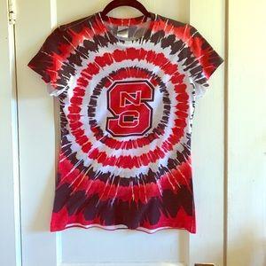 Tops - NC State Tie Dye Tshirt