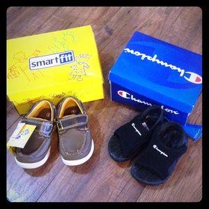 43adc287a682 Champion Shoes - NWT Toddler baby boy size 5 shoe bundle