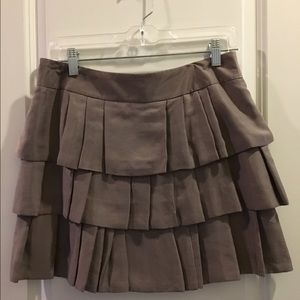Banana Republic layered mini skirt