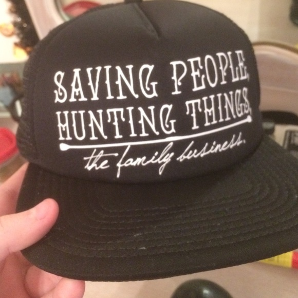 0155900d81cad Hot Topic Accessories - supernatural family business snapback