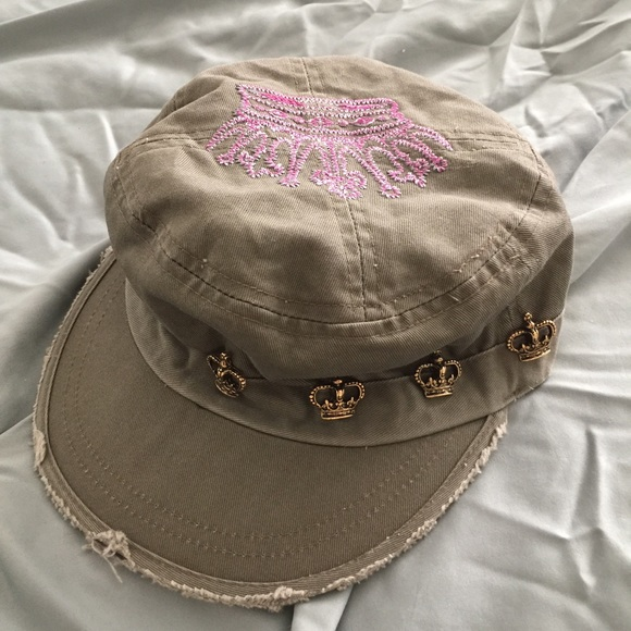 268c2ed0e31 Brokedown Accessories - Brokedown cadet green pink distressed crown hat