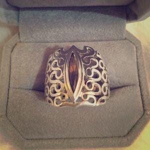 Sterling Silver Swarovski Ring Ava Ro New💍 9 From