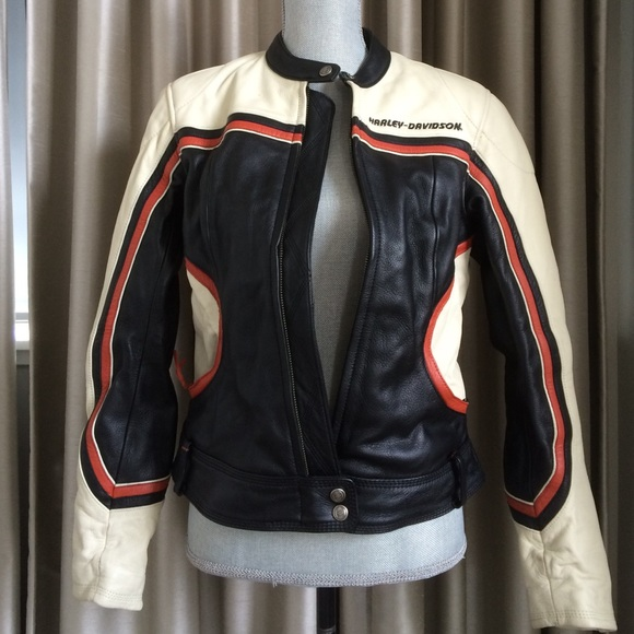 2d208e9c4b3805 Harley Davidson Jackets   Blazers - Harley Davidson women s leather riding  jacket