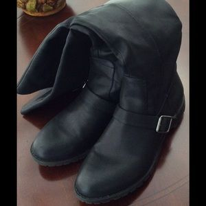 Shoes - Tall Black Boots