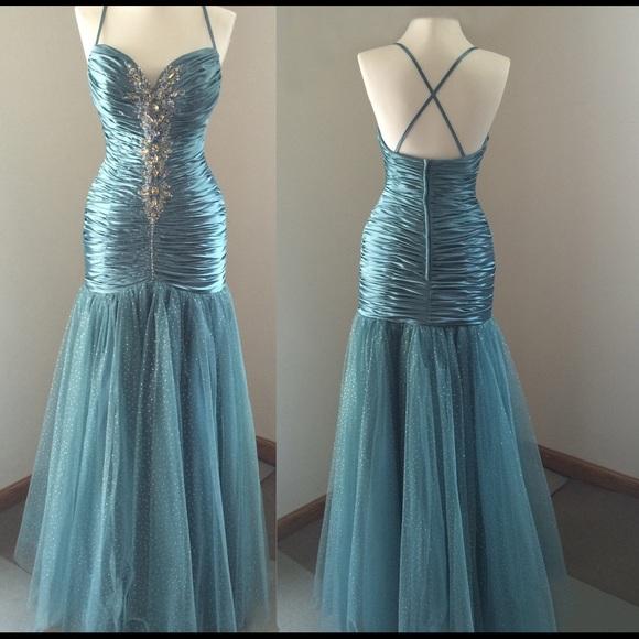 Joli Prom Dress Leather