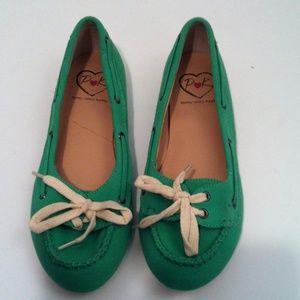 penny loves kenny Shoes - Green Penny loves Kenny Shoes