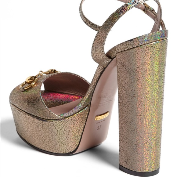 58% off Gucci Shoes - 💗1 day sale💗Gucci Claudie Platform Sandal ...