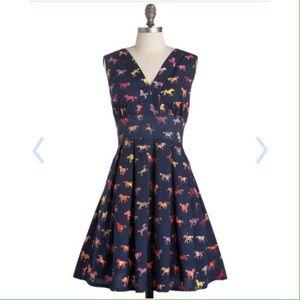 ModCloth Dresses & Skirts - Modcloth galloping glamour dress