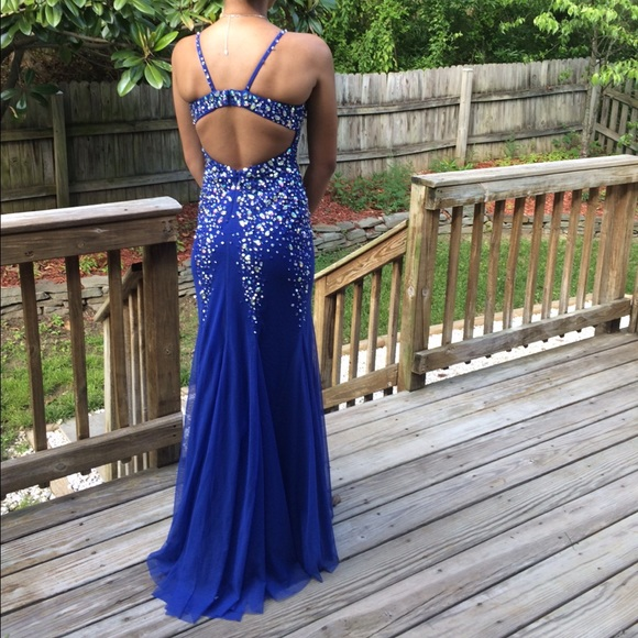 Davids Bridal Dresses Royal Blue Prom Dress Poshmark