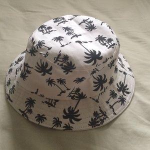 Bucket Hat Palm Trees
