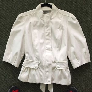 Mac & Jac white jacket