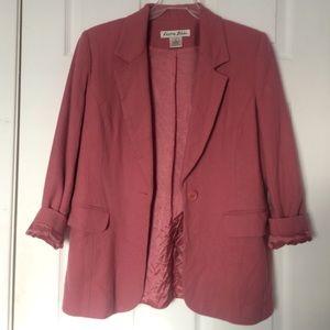 Deep pink blazer