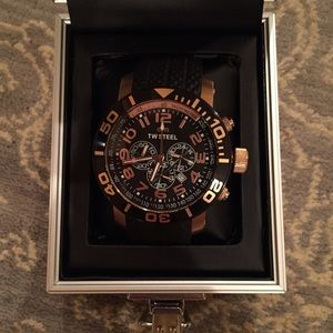 TW Steel Other - Men's rose gold plated TW Steel watch