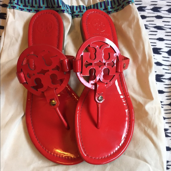 1f1f03322b5 Tory Burch Miller Sandals Red. M 5689aabbfbf6f9493d009587