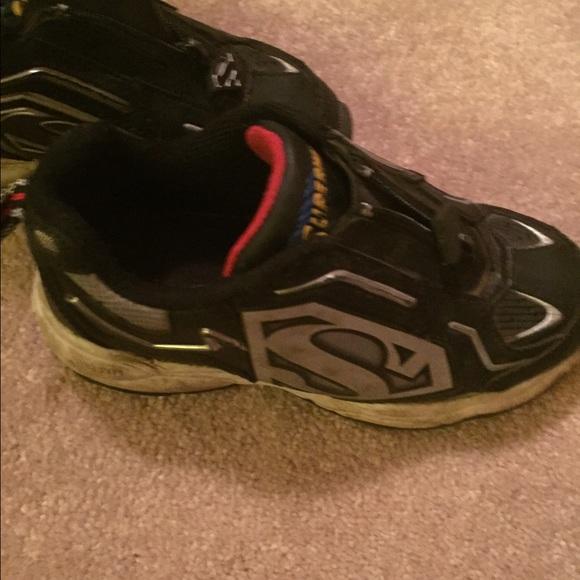 Shoes   Superman Light Up Shoes   Poshmark
