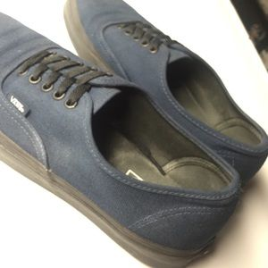 Furgonetas Auténtica Negro Azul Marino 9d75H